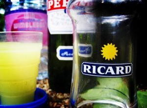 Pastis, more commonly ordered by the brand name Ricard. Photo by Simon Swatman.