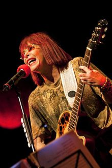 Rita Lee in concert. Photo credit.